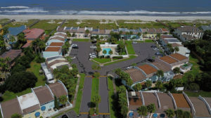 Jacksonville drone photography: Atlantic Beach townhome